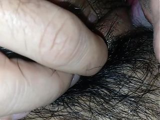Eating young hairy tight wet latina pussy