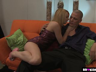 Lexi Belle Takes A Hung Mans Cock