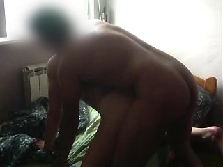 Teen with amazing body fucked by stepdad