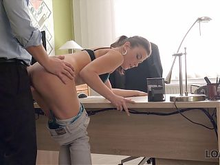 LOAN4K. Hot stunner needs extra money and she agrees