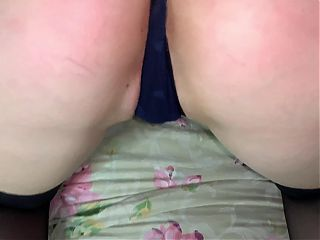 POV blowjob with cumshot in her mouth