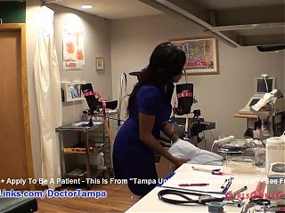 Tori Sanchez' Gyno Exam By Doctor From Tampa Caught On Hidden Cams