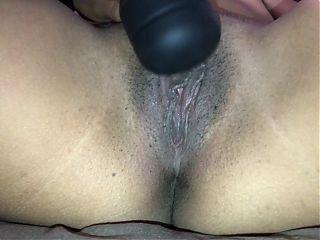 Vibrator vs Big Clit Pussy, who wins?