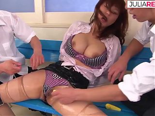 Asian girl fucked with cocks and sextoys