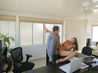 LOAN4K. Teen problem can be fixed if she has sex at the bank